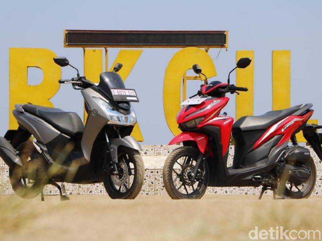 Komparasi Honda Vario 125 Vs Yamaha Lexi