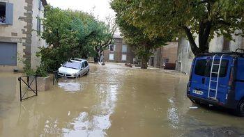 Banjir Bandang Menerjang Sejumlah Daerah di Prancis