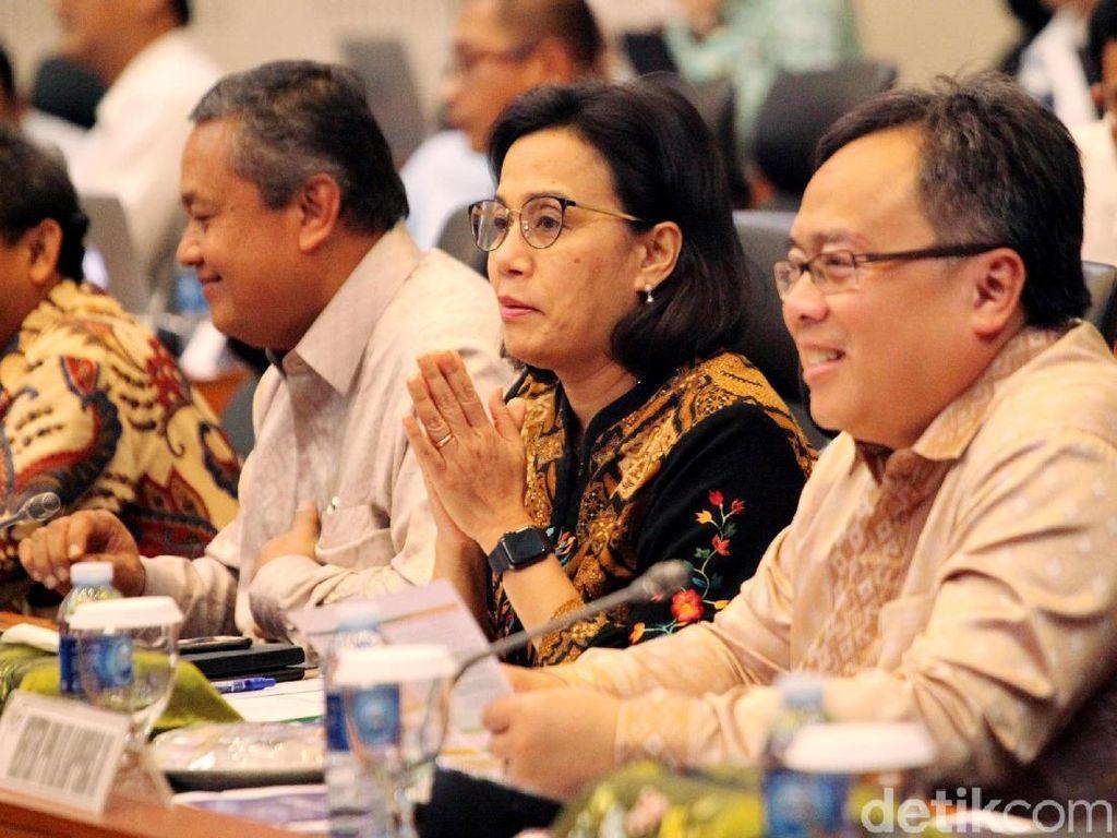 Bahas RUU APBN 2019, Sri Mulyani dan DPR Gelar Rapat