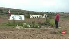 VIDEO: Pembunuh Jurnalis Wanita di Malta Belum Terungkap