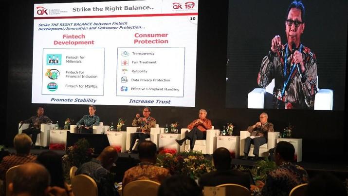 perlindungan konsumen dalam hal pemanfaatan fintech sangat penting karena transaksi tak dilakukan secara manual.