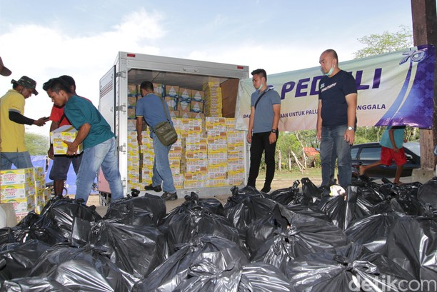 Bantuan Gempa Palu, Sigi Donggala Terus Mengalir