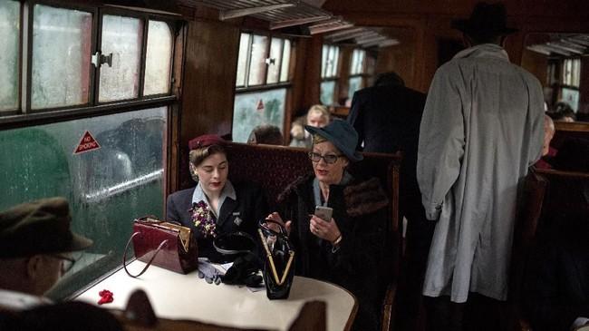 Belum lama ini sebuah acara dilangsungkan untuk mengenang momen perang dunia kedua di kawasan North Yorkshire Moors Railway.