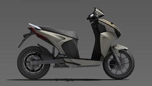 Tampang Baru Gesits Model Produksi Bocor