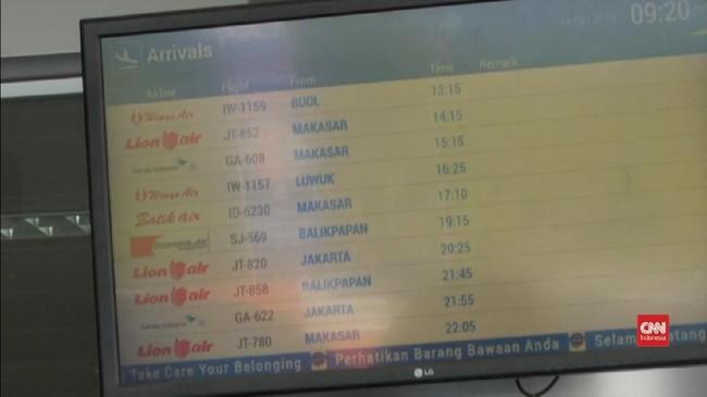 VIDEO: Operasional Bandara di Palu Kembali Normal