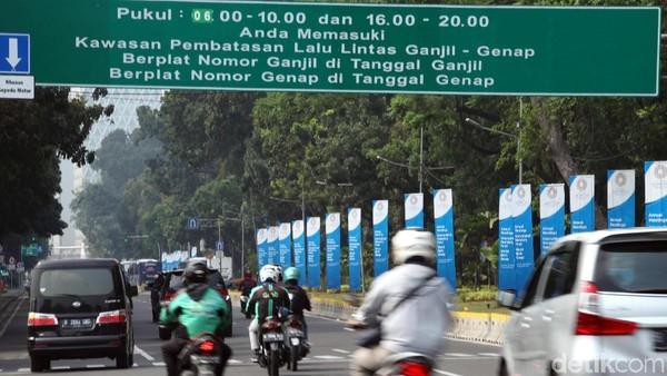 Ganjil-Genap DKI Sampai 2019