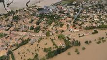 FOTO: Banjir Bandang Sapu Perancis, 12 Nyawa Melayang