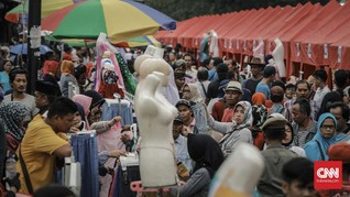 Anies Soal PKL Dagang di Trotoar: Aturan Tak Hitam Putih