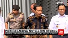 Indonesia Berkomunikasi dengan Australia Soal Yerusalem