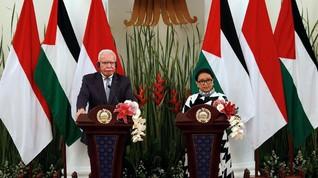 Indonesia Beri Bantuan Rp106,2 Miliar Bagi Palestina