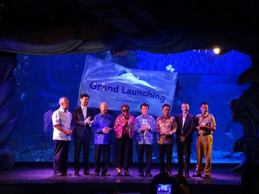 Dibuka Menteri Susi, Jakarta Aquarium Kenalkan Kekayaan Biota Laut