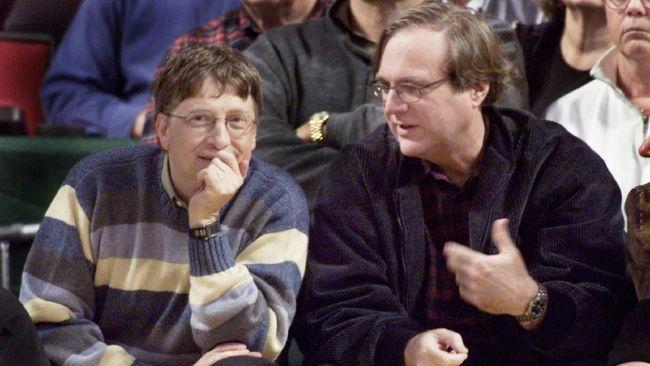 Paul Allen di Mata Bill Gates, Mitra Sejati dan Teman Baik