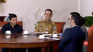 VIDEO: Anies Belum Tahu Pengganti Sandi