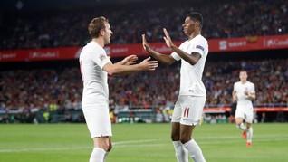 5 Fakta Menarik Kemenangan Inggris atas Spanyol