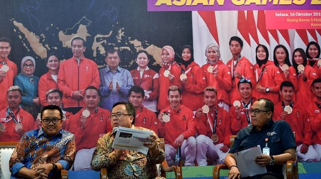 Asian Games Sumbang 0,05 Persen Pertumbuhan Ekonomi