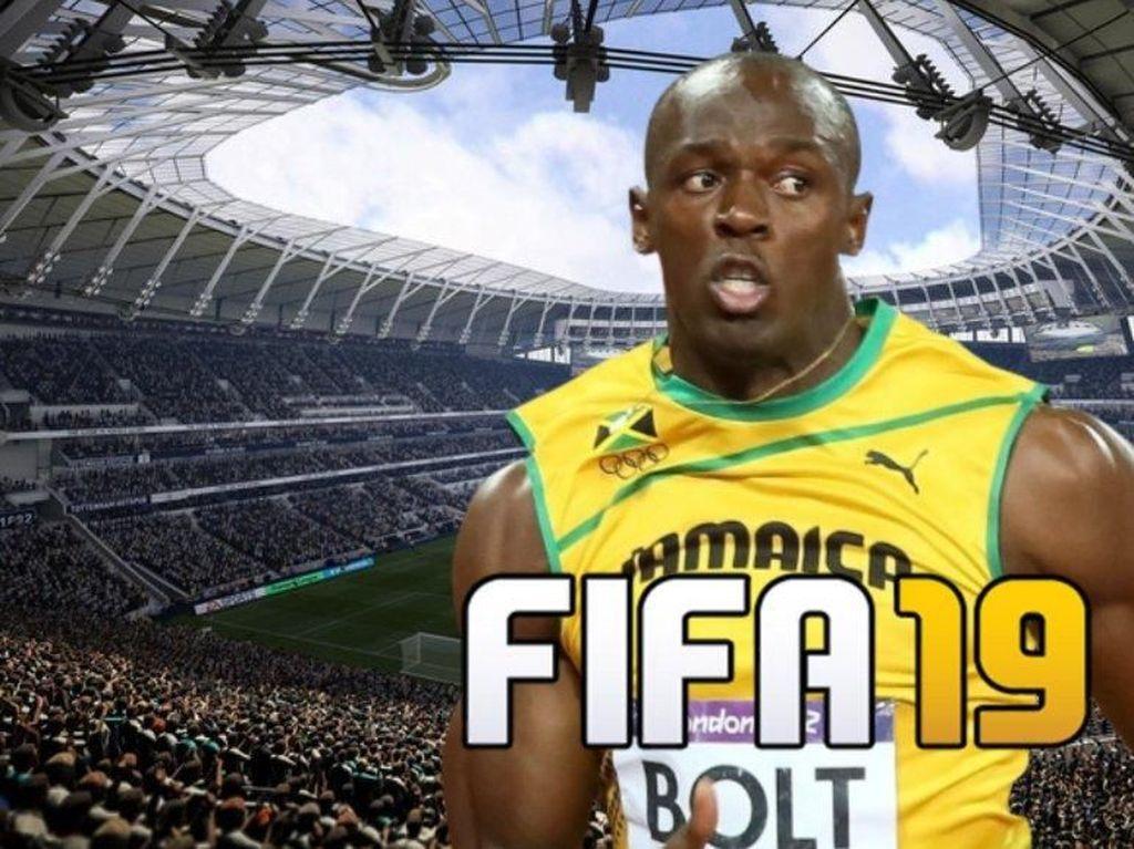 Deretan Terkaan Rating Usain Bolt di FIFA 19