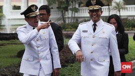 FOTO: Lika-liku Setahun Perjalanan Anies Baswedan di Jakarta