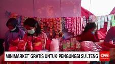 Minimarket Gratis Untuk Pengungsi Sulteng