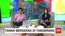 Tanah Gerak Gegerkan Warga Tangerang