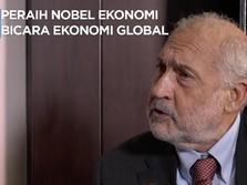 Peraih Nobel Stiglitz Bicara Jatuhnya Kurs & Bunga Tinggi