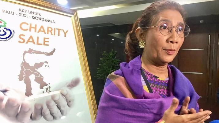 Menteri Susi Jual Rok Mini Sampai Tas Chanel untuk Palu