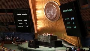 Palestina Terpilih Jadi Pemimpin 77 Negara Berkembang di PBB