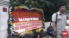 HUT ke-67, Kediaman Prabowo Banjir Hadiah dan Karangan Bunga
