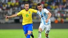 Brasil Kalahkan Argentina Berkat Gol Tunggal Miranda