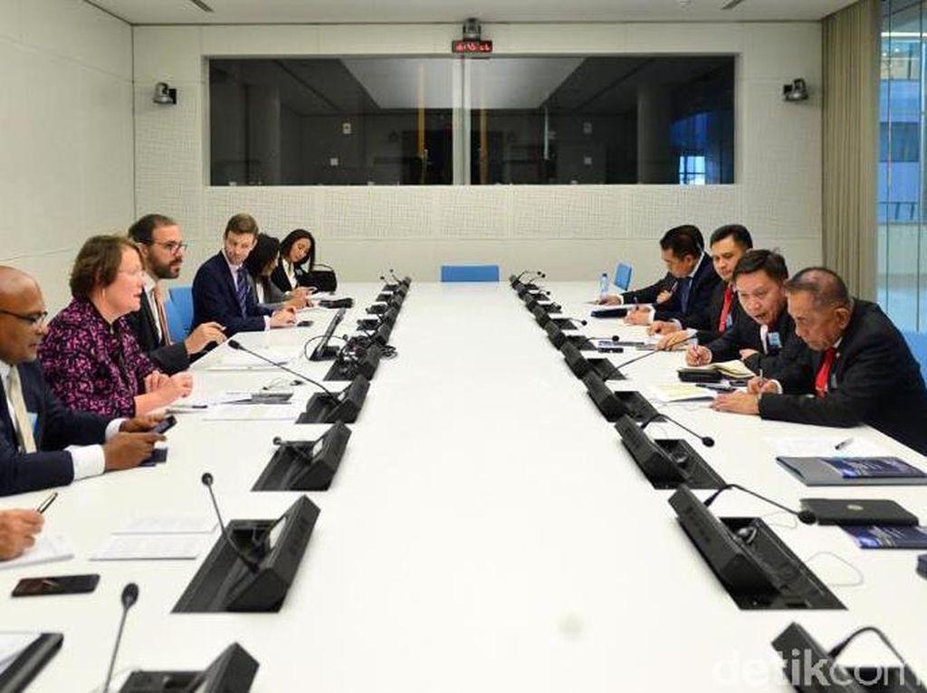 Dialog tersebut bertajuk Asia-Europe Counter Terrorism Dialogue Pool/Kemenhan.