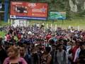Paksa Masuk AS, 1.500 Imigran Honduras Terobos Guatemala