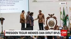 Presiden Jokowi Tegur Menkes dan Dirut BPJS