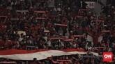 Timnas Indonesia U-19 selanjutnya akan menghadapi Qatar di pertandingan kedua Grup A di Stadio Utama Gelora Bung Karno, Minggu (21/10). (CNN Indonesia/Hesti Rika)