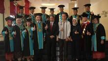 Menpar Hadiri Wisuda Mahasiswa Poltekpar Medan