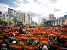 Ribuan Sopir Taksi Seoul Tantang Kebijakan Layanan Carpool