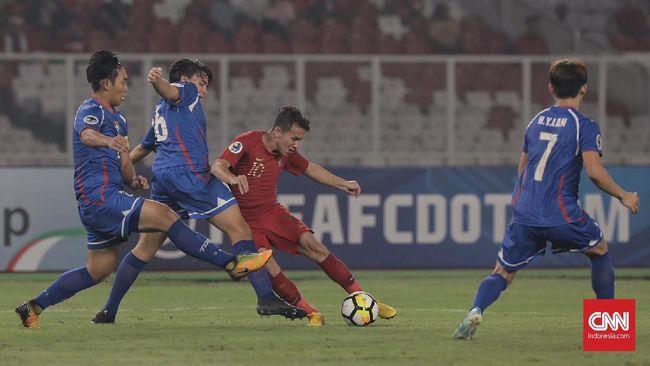 Babak I: Indonesia U-23 vs China Imbang Tanpa Gol