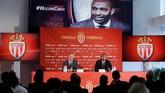 Thierry Henry mendapatkan kontrak selama tiga tahun ke depan bersama AS Monaco. Kontrak Henry di Monaco berlaku sejak 13 Oktober 2018 sampai dengan 30 Juni 2021. (REUTERS/Eric Gaillard)