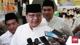Airlangga Sebut Tak Ada Alasan Golkar Tak Dukung Jokowi