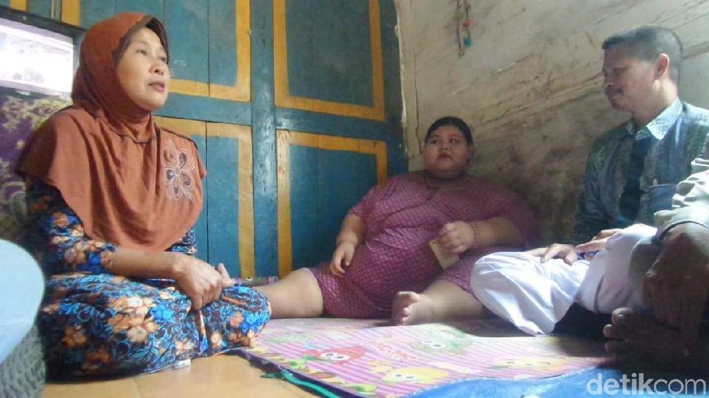 Heboh Gadis Lamongan Berbobot 179 Kg, Aria 'Bocah Tergemuk' Pernah Lebih Gemuk
