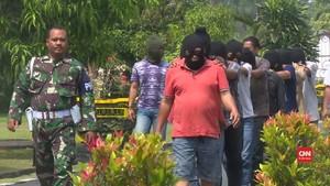 VIDEO: Gerebek Pesta Narkoba di Komplek TNI Deli Serdang