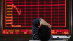 FOTO : Ekonomi China Sentuh Titik Nadir 9 Tahun Terakhir