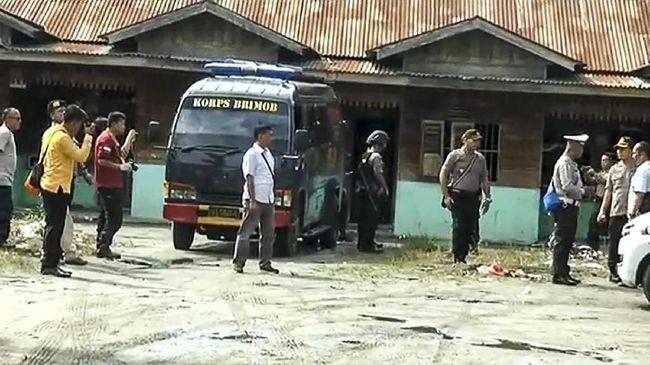 Terduga Teroris di Tanjungbalai Bawa Bom Bunuh Diri