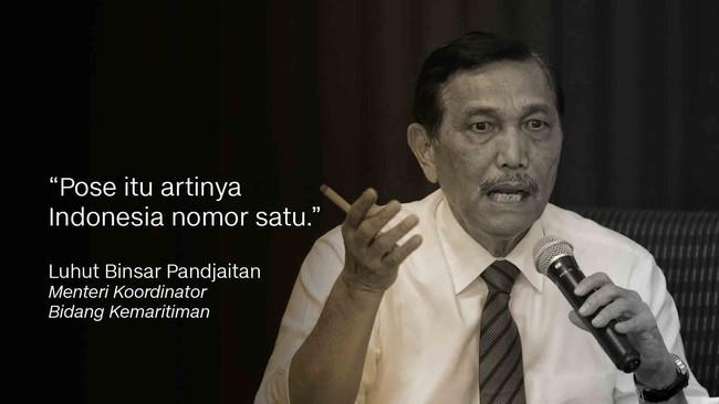 Menteri Koordinator Kemaritiman Luhut Binsar Pandjaitan.