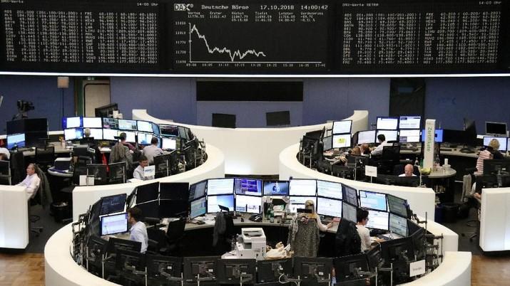 Bursa Eropa Galau Nantikan Keputusan The Fed