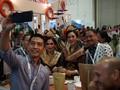 'Diplomasi' Kopi ala Menpar di Singapura Saat  ITB 2018
