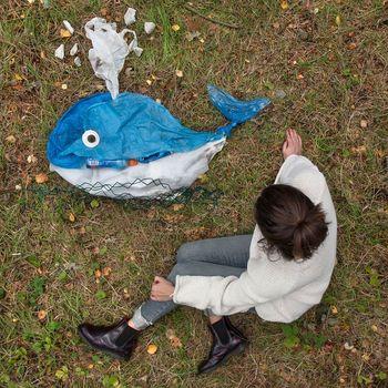 Kreatif Tapi Menohok, Ketika Sampah Disulap Jadi Seni