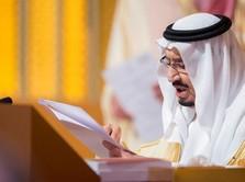 Di-warning Soal Palestina, Trump Beri 'Jempol' ke Raja Salman