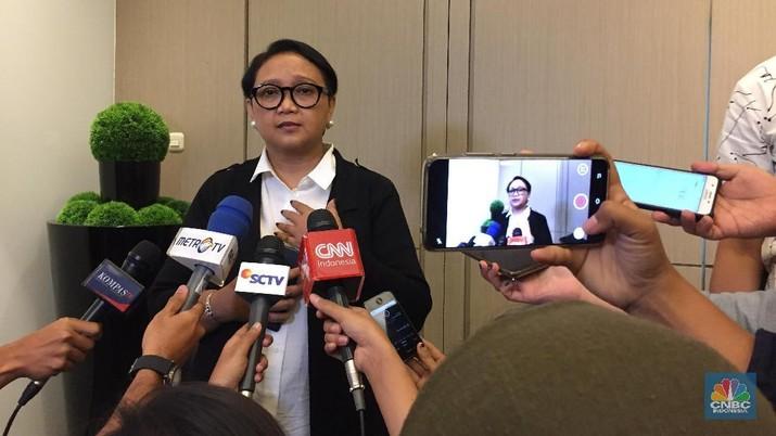 Menteri Luar Negeri Indonesia Retno LP Marsudi (CNBC Indonesia/Anastasia Arvirianty)