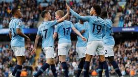 Man City Menang Telak 5-0 Atas Burnley di Liga Inggris