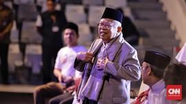 Ma'ruf Terima Kasih ke Caleg PAN yang Tak Dukung Prabowo