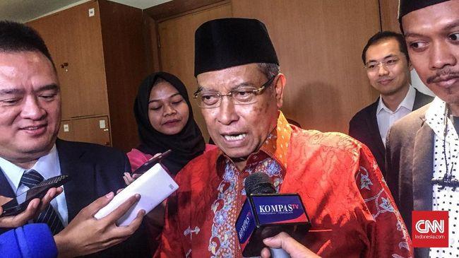 Said Aqil Tak Mau Didikte MUI: Ketua PBNU Harus Nekat